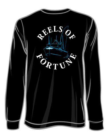 Black Long Sleeve Tee- No Pocket