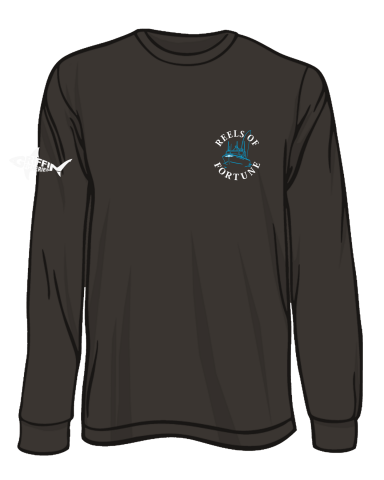 Reels Of Fortune - Boat Logo Long Sleeve T-Shirt